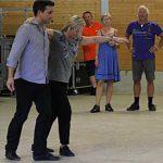 Lite tid til samvær for kjent dansepar